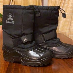 EUC kamik kids waterproof snow boots, 2